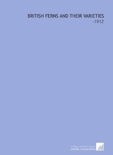 9781112222665: British Ferns and Their Varieties: -1912