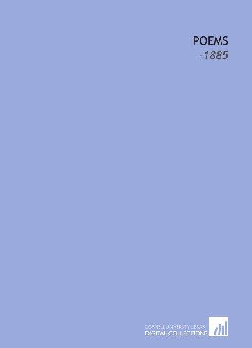 9781112223211: Poems: -1885