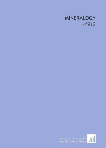 9781112229220: Mineralogy: -1912