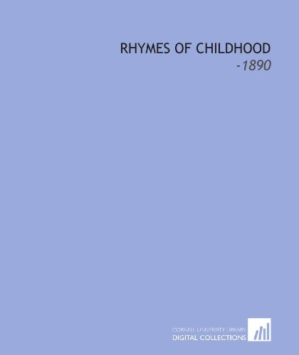 9781112288753: Rhymes of Childhood: -1890