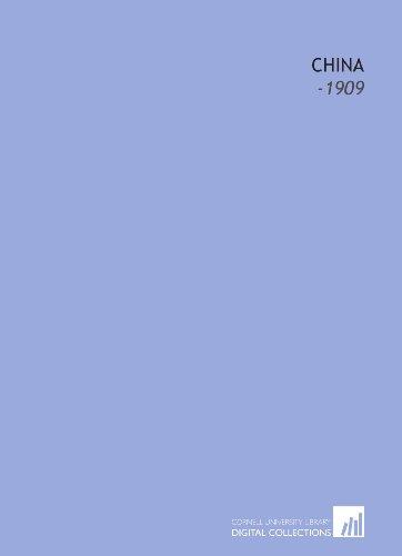 China: -1909: Lena E. Johnston