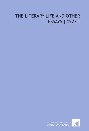 The Literary Life and Other Essays [ 1922 ] (9781112392313) by Patrick Augustine Sheehan
