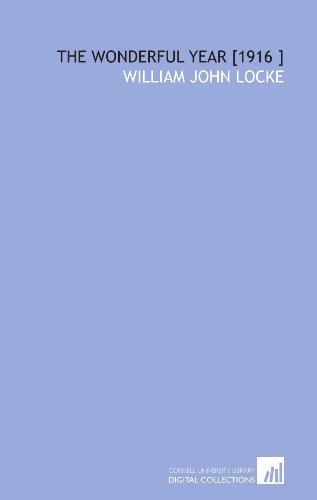 9781112490989: The Wonderful Year [1916 ]
