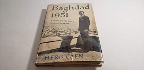 9781112504570: Baghdad: 1951