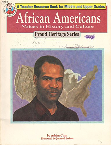 9781112557903: African Americans. Voices in History and Culture. (A Teacher Resource Book for Middle and Upper Grades). Proud History Series.