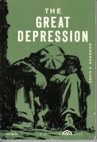 9781112697937: The Great Depression