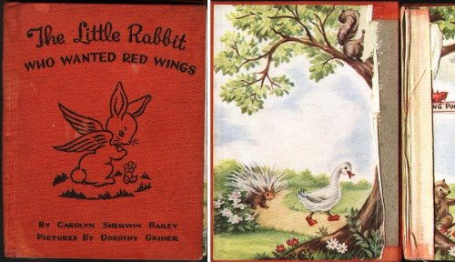 9781112762345: The Little Rabbit Who Wanted Red Wings