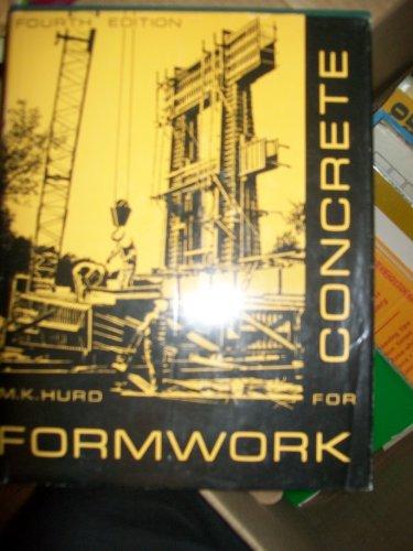 9781112773259: Formwork for Concrete