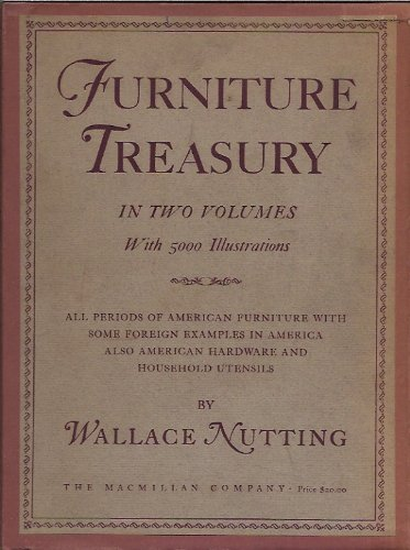 9781112853012: FURNITURE TREASURY (MOSTLY OF AMERICAN ORIGIN). Two volumes.