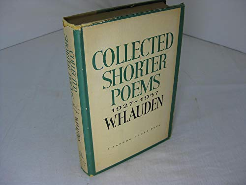 9781112889462: Collected Shorter Poems 1927 - 1957