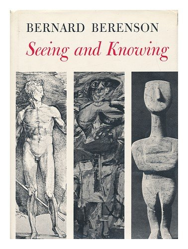 9781112981692: Seeing and Knowing