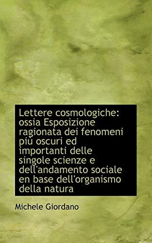 Lettere Cosmologiche: Michele Giordano