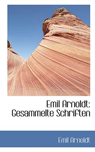 9781113008411: Emil Arnoldt: Gesammelte Schriften