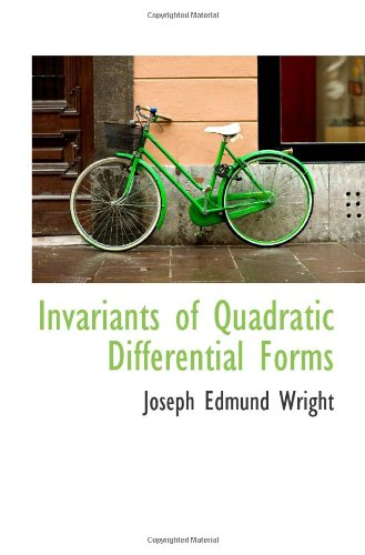 9781113010278: Invariants of Quadratic Differential Forms