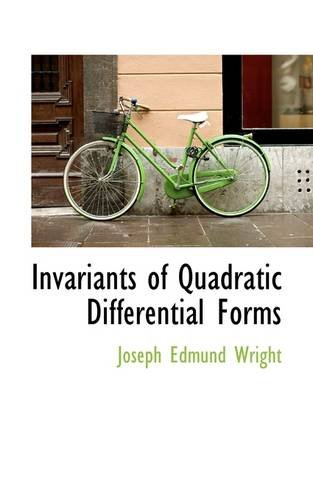 9781113010308: Invariants of Quadratic Differential Forms