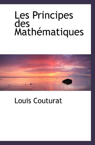 9781113016836: Les Principes des Mathématiques