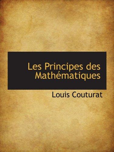 9781113016843: Les Principes des Mathématiques