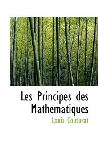 9781113016898: Les Principes des Mathématiques
