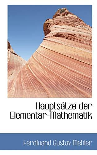 9781113019448: Hauptsätze der Elementar-Mathematik