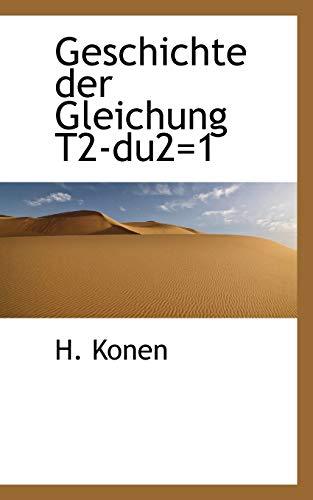 Geschichte Der Gleichung (Paperback): H Konen