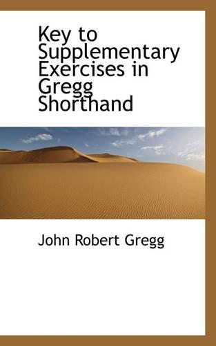 9781113052216: Key to Supplementary Exercises in Gregg