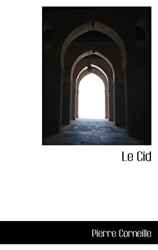 9781113067845: Le Cid