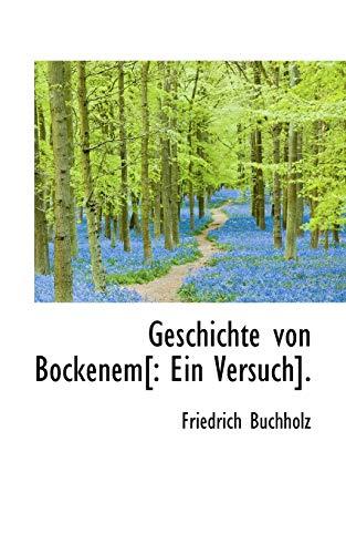 9781113070517: Geschichte von Bockenem: Ein Versuch