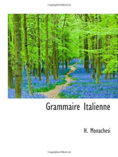 9781113072900: Grammaire Italienne