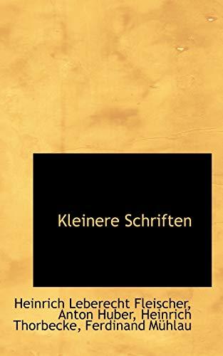 9781113078780: Kleinere Schriften