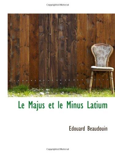 9781113086174: Le Majus et le Minus Latium