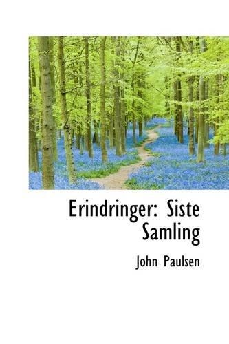9781113116048: Erindringer: Siste Samling