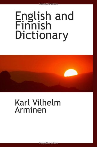 9781113126719: English and Finnish Dictionary
