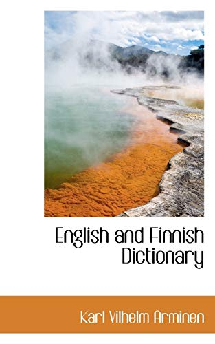 9781113126764: English and Finnish Dictionary