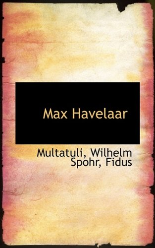 9781113127372: Max Havelaar (German Edition)