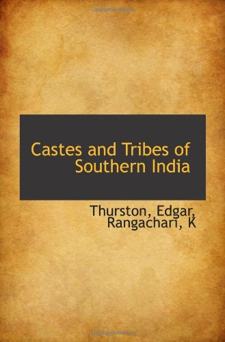 9781113132215: Castes and Tribes of Southern India