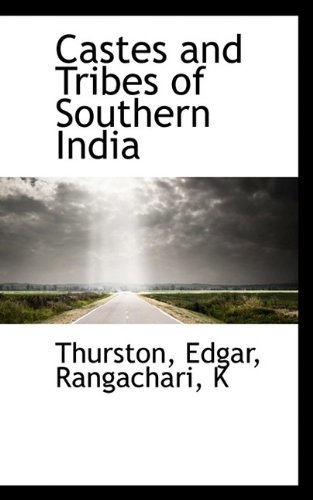 9781113132260: Castes and Tribes of Southern India