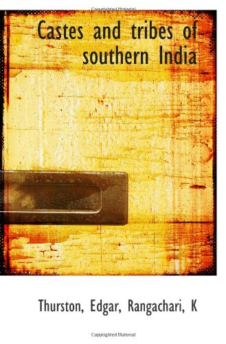 9781113143952: Castes and tribes of southern India