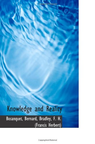 9781113158369: Knowledge and Reality