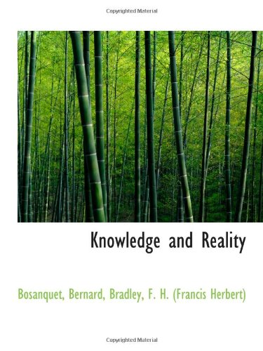 9781113158376: Knowledge and Reality