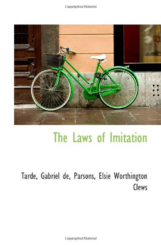 9781113159106: The Laws of Imitation