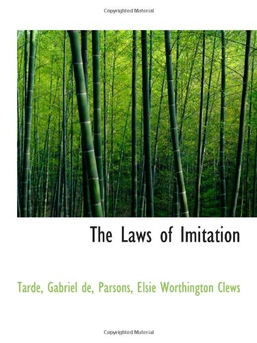9781113159120: The Laws of Imitation