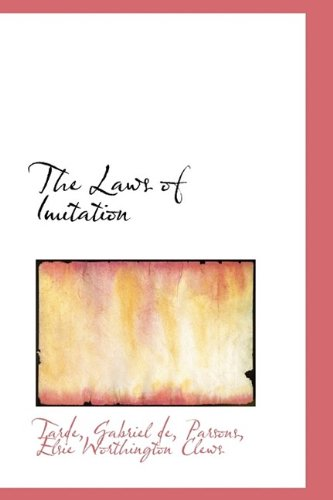 9781113159151: The Laws of Imitation