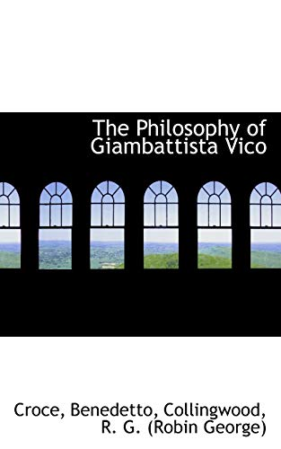9781113165824: The Philosophy of Giambattista Vico