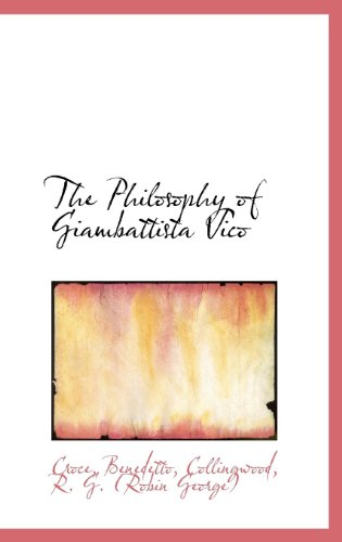 9781113165855: The Philosophy of Giambattista Vico