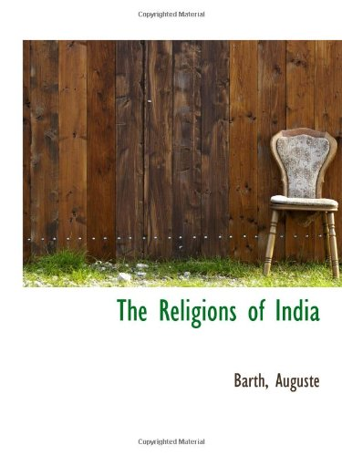9781113168917: The Religions of India