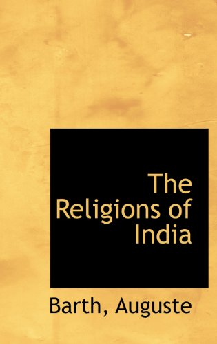 9781113168962: The Religions of India