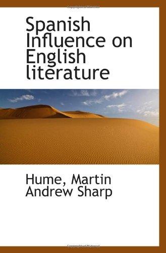 9781113171900: Spanish Influence on English literature