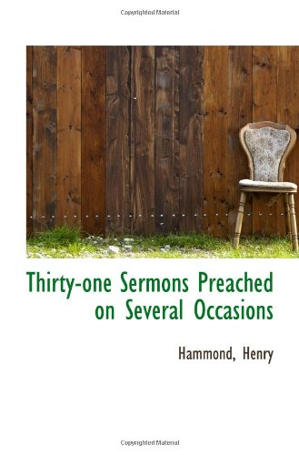 9781113175892: Thirty-one Sermons Preached on Several Occasions