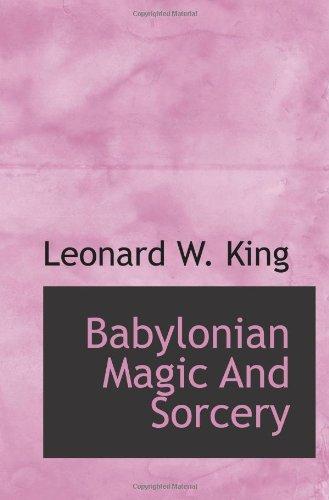 9781113187475: Babylonian Magic And Sorcery