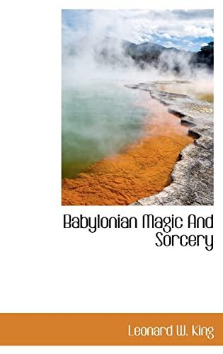 9781113187505: Babylonian Magic And Sorcery
